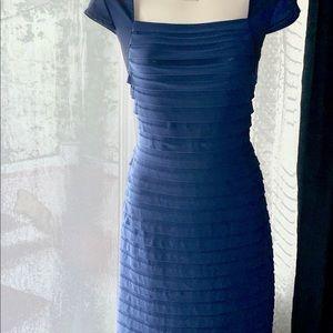 Cache Royal blue bandage dress